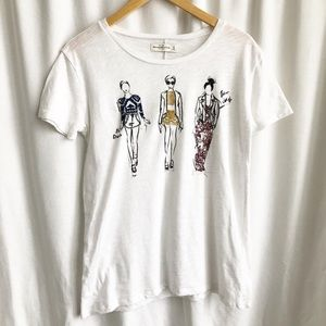 Abercrombie & Fitch tee white tee
